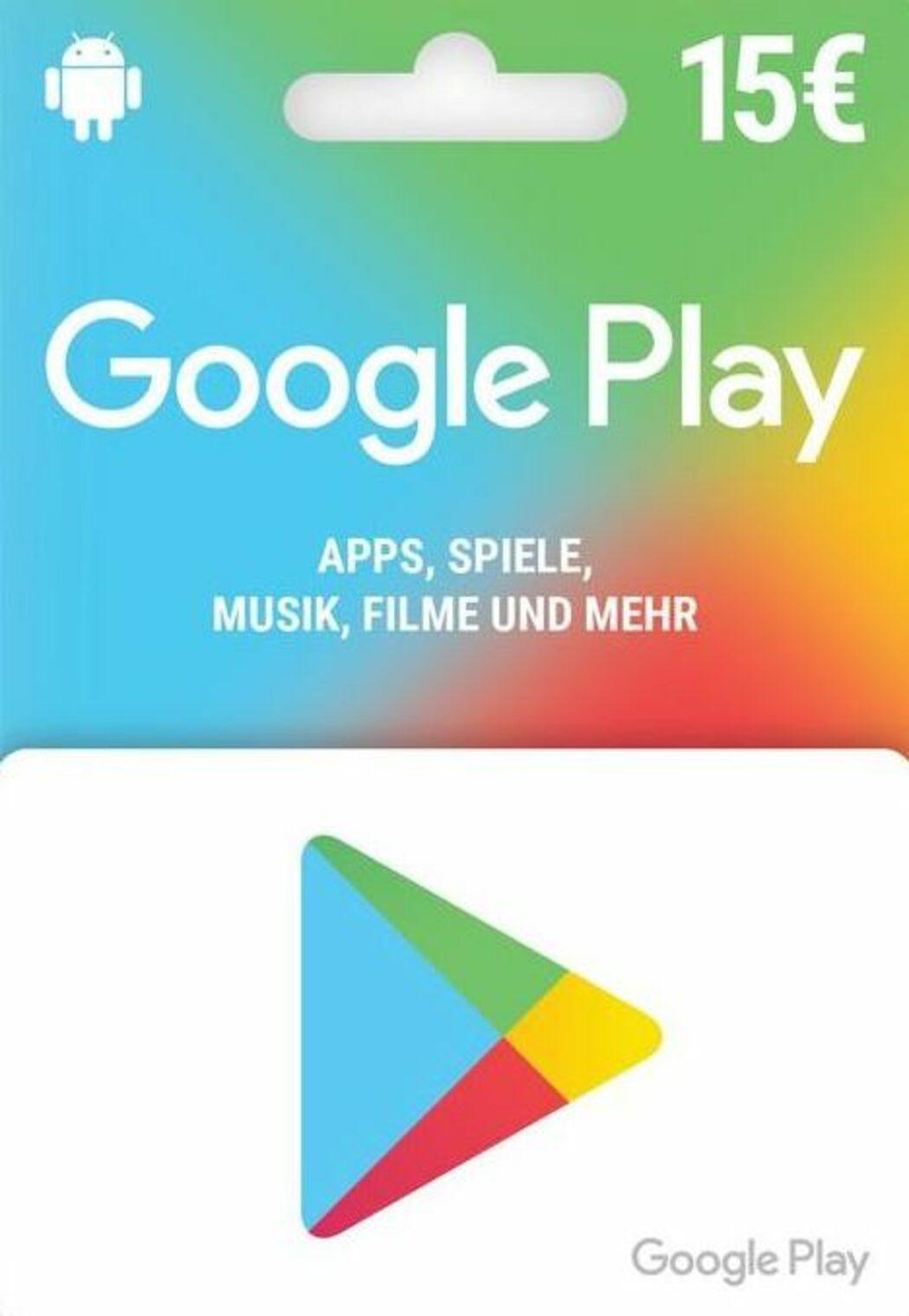 Google Play Gift Card 7 EUR (DE) günstiger kaufen! ENEBA