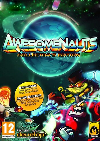 Awesomenauts (Collector's Edition) Steam Key GLOBAL