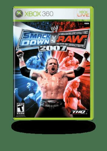 Smackdown vs RAW 2007 Xbox 360