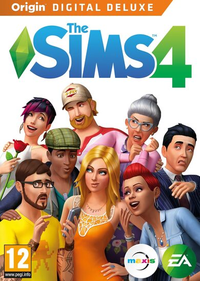 The Sims 4 Digital Deluxe Edition Origin Key GLOBAL