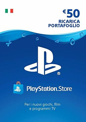 PlayStation Network Card 50 EUR (IT) PSN Key ITALY