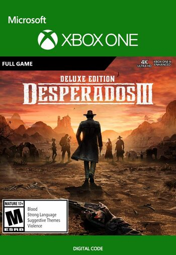 Desperados III Digital Deluxe Edition (Xbox One) Xbox Live Key UNITED STATES