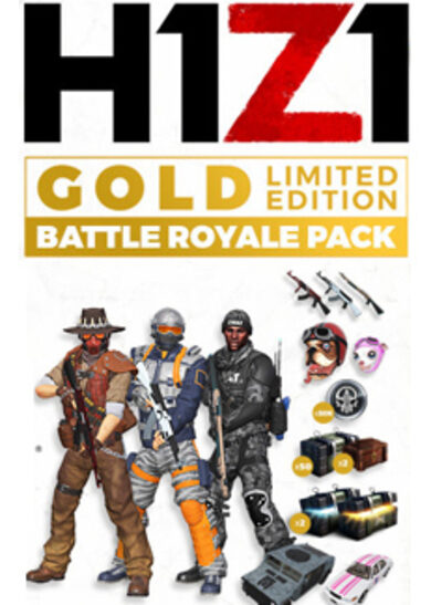 H1Z1: Battle Royale Pack (Gold LIMITED EDITION) (DLC) Steam Key GLOBAL