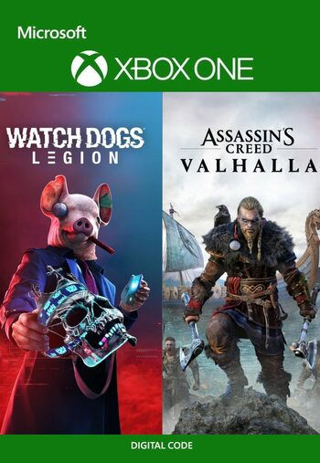 Assassin's Creed Valhalla + Watch Dogs: Legion Bundle (Xbox One) Xbox Live Key UNITED STATES
