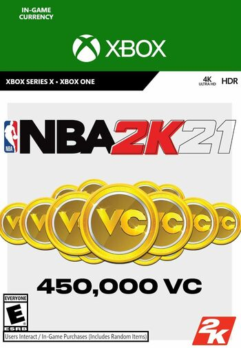 NBA 2K21: 450,000 VC (Xbox One) Xbox Live Key GLOBAL