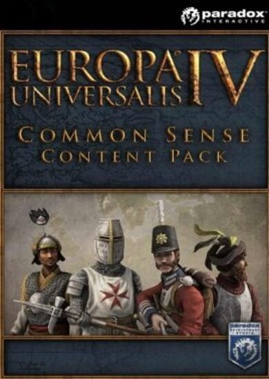 Europa Universalis IV - Common Sense Content Pack (DLC) Steam Key GLOBAL