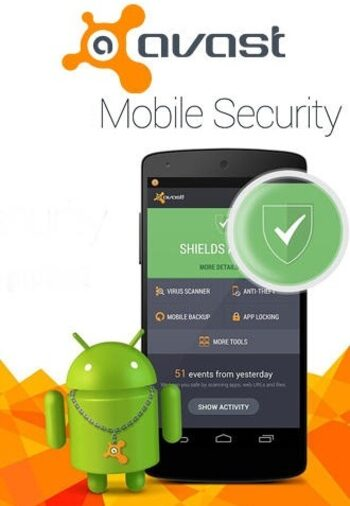 Avast Ultimate Mobile Security 5 Devices (Android) 1 Year Avast Key GLOBAL