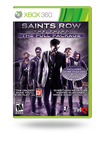 Saints Row: The Third - The Full Package Xbox 360