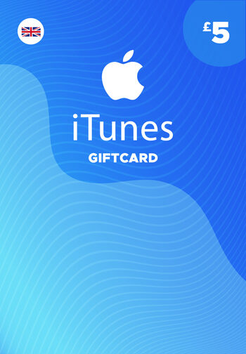 Apple iTunes Gift Card 5 GBP (UK) iTunes Key UNITED KINGDOM