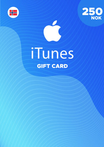 Apple iTunes Gift Card 250 NOK iTunes Key NORWAY