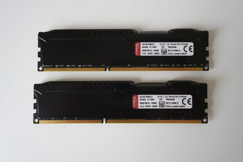 Buy Kingston HyperX Fury Black 16 GB (2 x 8 GB) DDR3-1866 Black / Silver PC RAM