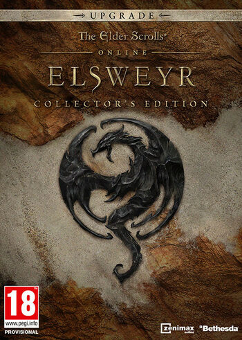 The Elder Scrolls Online: Elsweyr Digital Collector's Edition Upgrade (DLC) Official Website Key GLOBAL