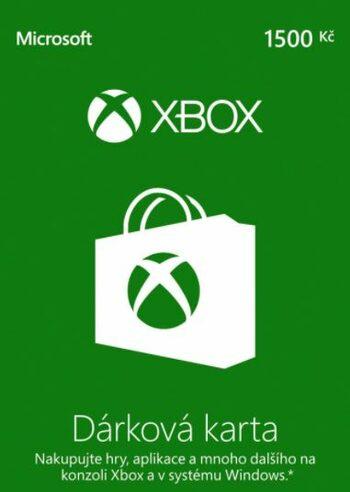 Xbox Live Gift Card 1500 CZK (CZ) Xbox Live Key CZECH REPUBLIC