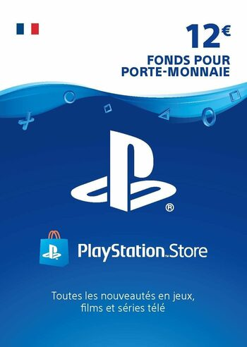 Carte PlayStation Network 12 EUR (FR) Carte PSN FRANCE