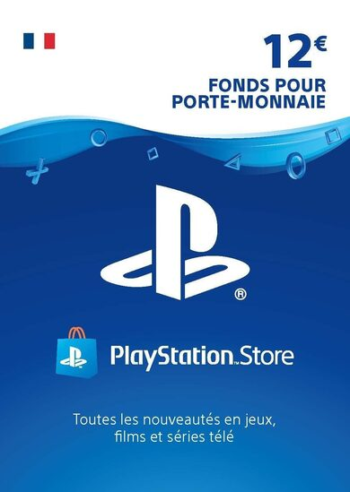 PlayStation Network Card 12 EUR (FR) PSN Key FRANCE