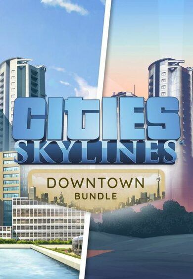 Cities: Skylines - Downtown Bundle (DLC) Steam Key GLOBAL