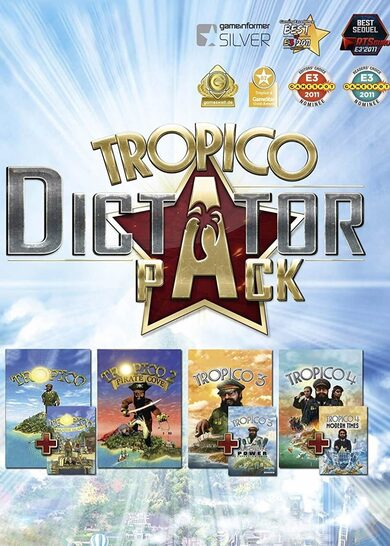 Tropico Dictator Pack Steam Key GLOBAL