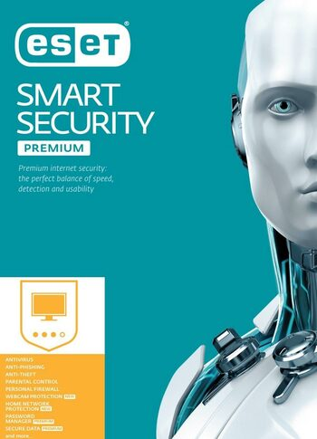Eset NOD32 ESET Smart Security Premium 2020 1 Device 2 Years Key GLOBAL