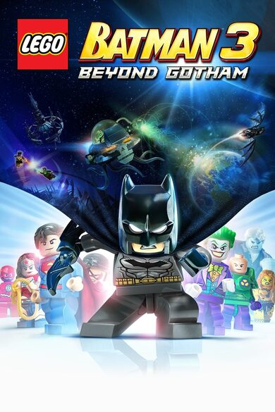 LEGO Batman 3: Beyond Gotham + Rainbow Character (DLC) Pack Steam Key GLOBAL
