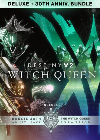 Destiny 2: The Witch Queen Deluxe + Bungie 30th Anniversary Bundle (DLC) Steam Key GLOBAL