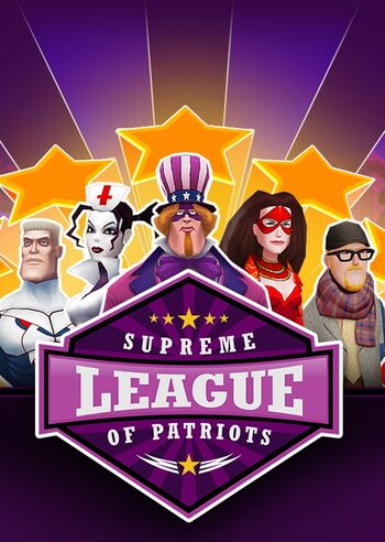 Supreme League of Patriots Season Pass Steam Key GLOBAL