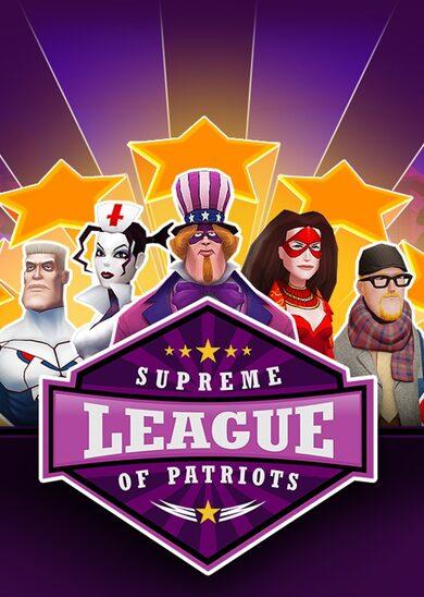 Supreme League of Patriots Season Pass Steam Key GLOBAL