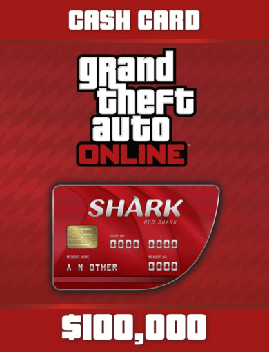 Grand Theft Auto Online - Red Shark Cash Card  Rockstar Social Club Key EUROPE