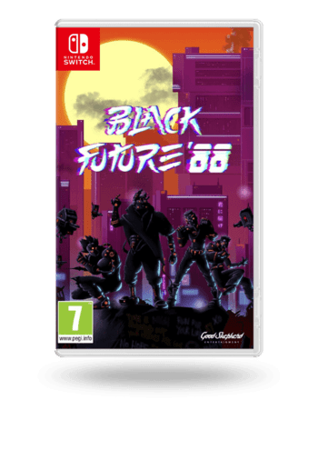 Black Future '88 Nintendo Switch
