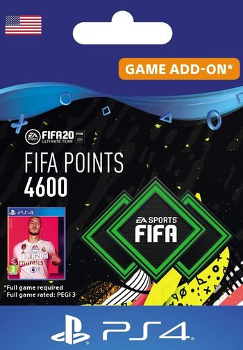 FIFA 20 - 4600 FUT Points (PS4) PSN Key UNITED STATES