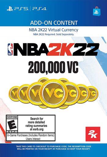 NBA 2K22: 200,000 VC (PS4/PS5) PSN Key UNITED STATES