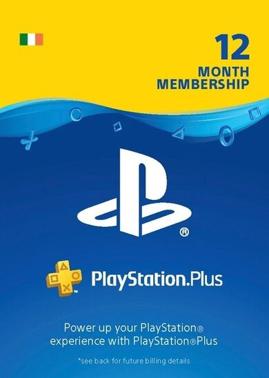 PlayStation Plus Card 365 Days (IE) PSN Key IRELAND