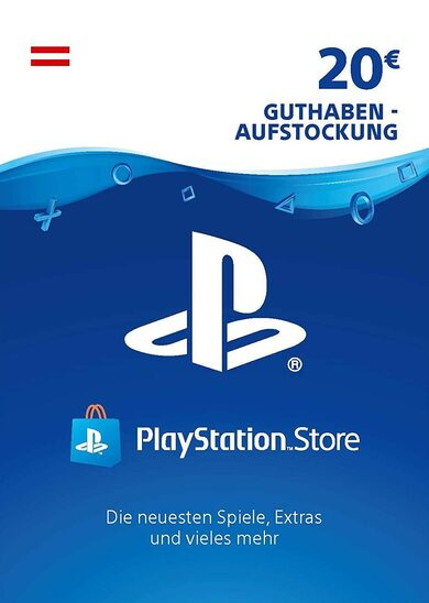 PlayStation Network Card 20 EUR (AT) PSN Key AUSTRIA