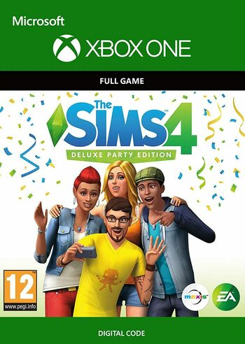 The Sims 4: Deluxe Party Edition (Xbox One) Xbox Live Key UNITED STATES