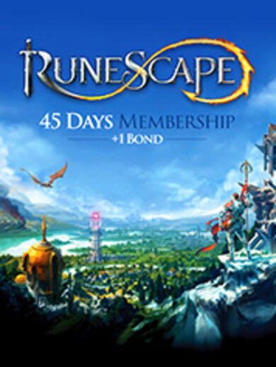 RuneScape 45 Day Membership + 1 Bond Key GLOBAL