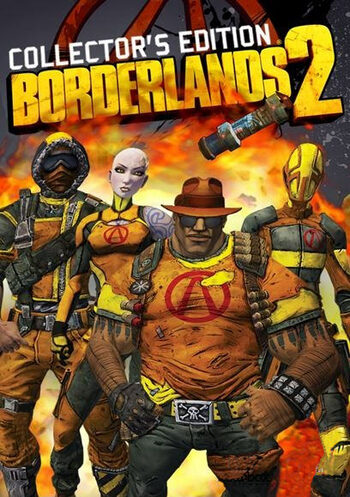 Borderlands 2 - Collectors Edition Content (DLC) Steam Key EUROPE