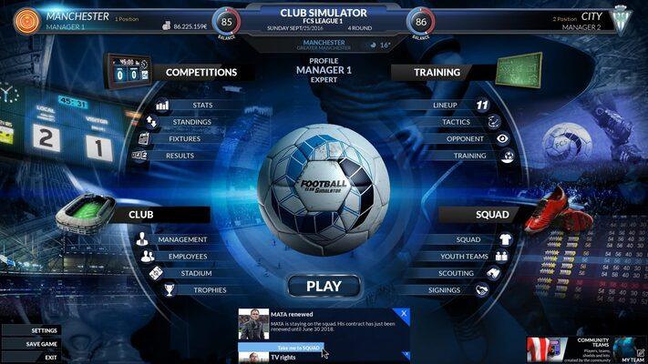 Buy Football Club Simulator - FCS key