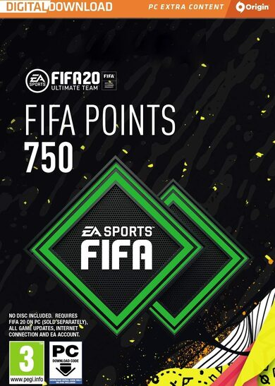 FIFA 20 - 750 FUT Points Origin Key GLOBAL