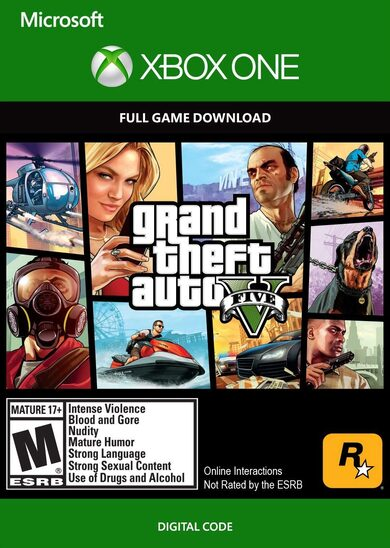 Grand Theft Auto V (Xbox One) Xbox Live Key EUROPE