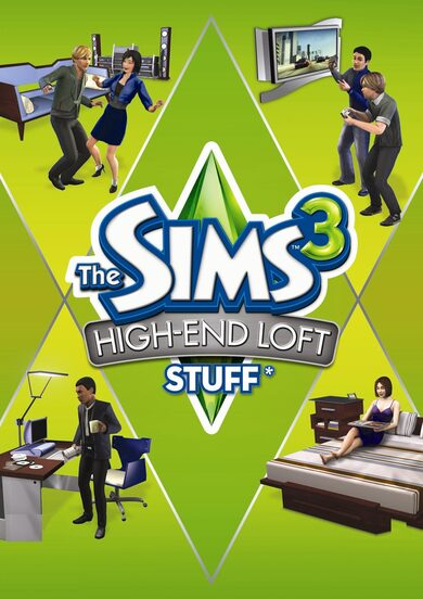 The Sims 3: High end Loft Stuff (DLC) Origin Key GLOBAL