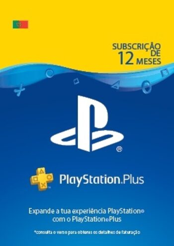 PlayStation Plus Card 365 Days (PT) PSN Key PORTUGAL