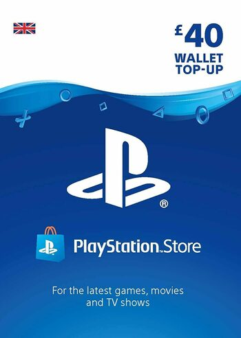 PlayStation Network Card 40 GBP (UK) PSN Key UNITED KINGDOM