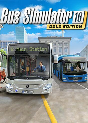 Bus Simulator 16 (Gold Edition) Steam Key EUROPE