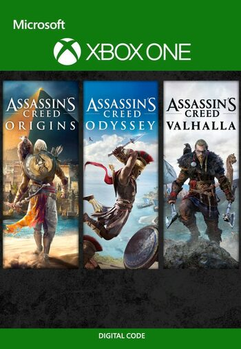 Assassin's Creed Bundle: Valhalla, Odyssey, Origins (Xbox One) Xbox Live Key UNITED STATES