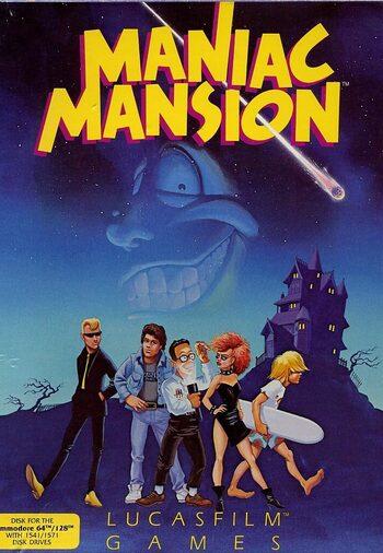 Maniac Mansion Steam Key GLOBAL
