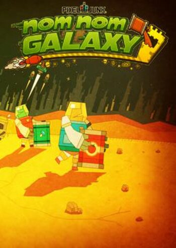 PixelJunk Nom Nom Galaxy Steam Key GLOBAL