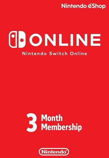 Nintendo Switch Online Membership - 3 Months eShop Key UNITED STATES