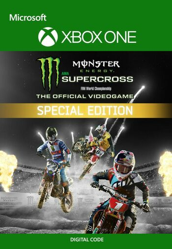 Monster Energy Supercross Special Edition XBOX LIVE Key UNITED STATES