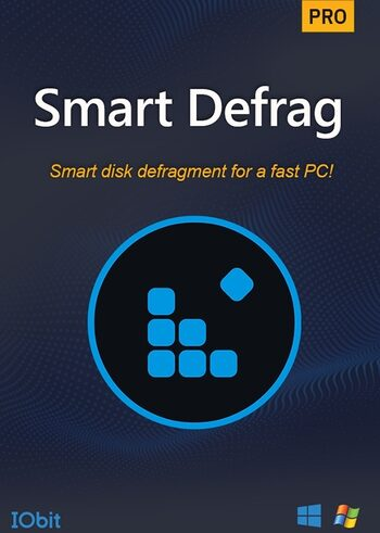 Iobit Smart Defrag 6 PRO 1 Year, 3 device licence Iobit Key GLOBAL