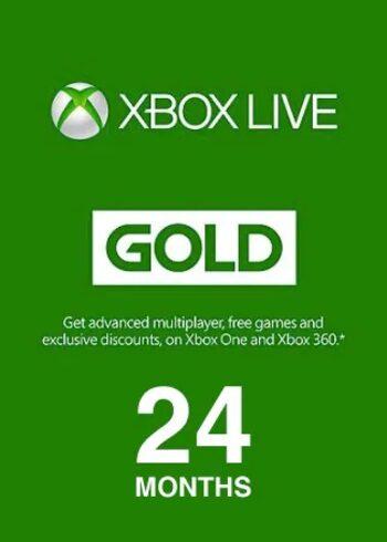 Xbox Live Gold 24 months Xbox Live Key GLOBAL
