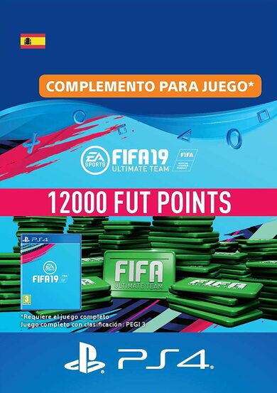 FIFA 19 - 12000 FUT Points (PS4) PSN Key SPAIN